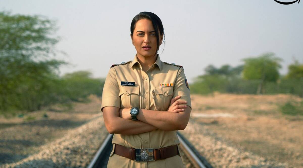 Sonakshi Sinha is a tough, no-nonsense cop in the first look of untiled Amazon series - The Indian Express