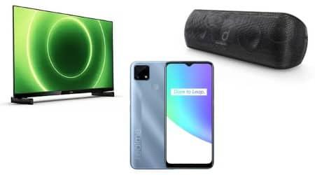 tech launches, realme, Realme C25, Honor V40 Lite, Vivo Y72 5G, Phillips TV, JBL party speaker, SoundCore speaker, speaker