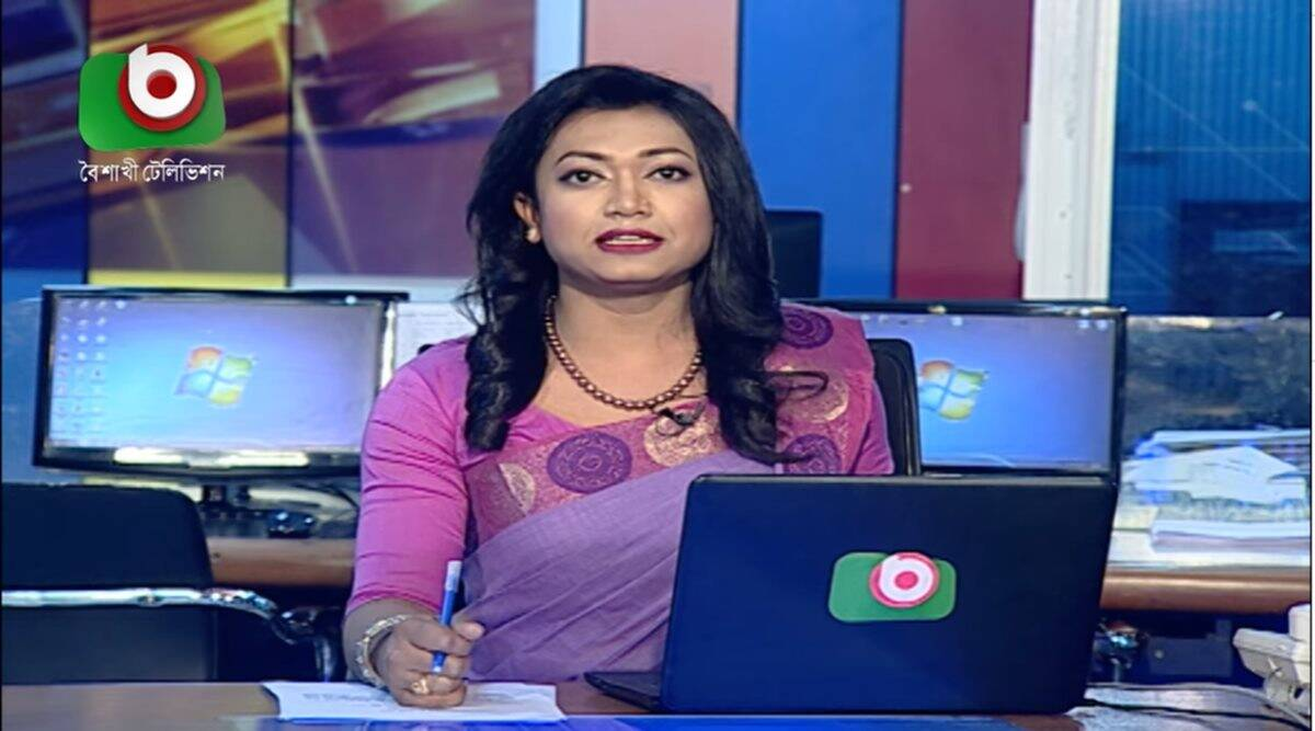 bangladesh transgender news anchor, Tashnuva Anan Shishir, boishakhi tv, transgender news anchor, lgbtq community, good news, indian express