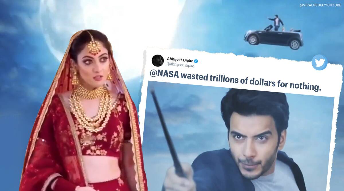 Yeh Jaadu Hai Jinn Ka, Yeh Jaadu Hai Jinn Ka roshni ka swayamvar, indian tv show chand ka tukda, Yeh Jaadu Hai Jinn Ka chand ka tukda, viral videos, indian express