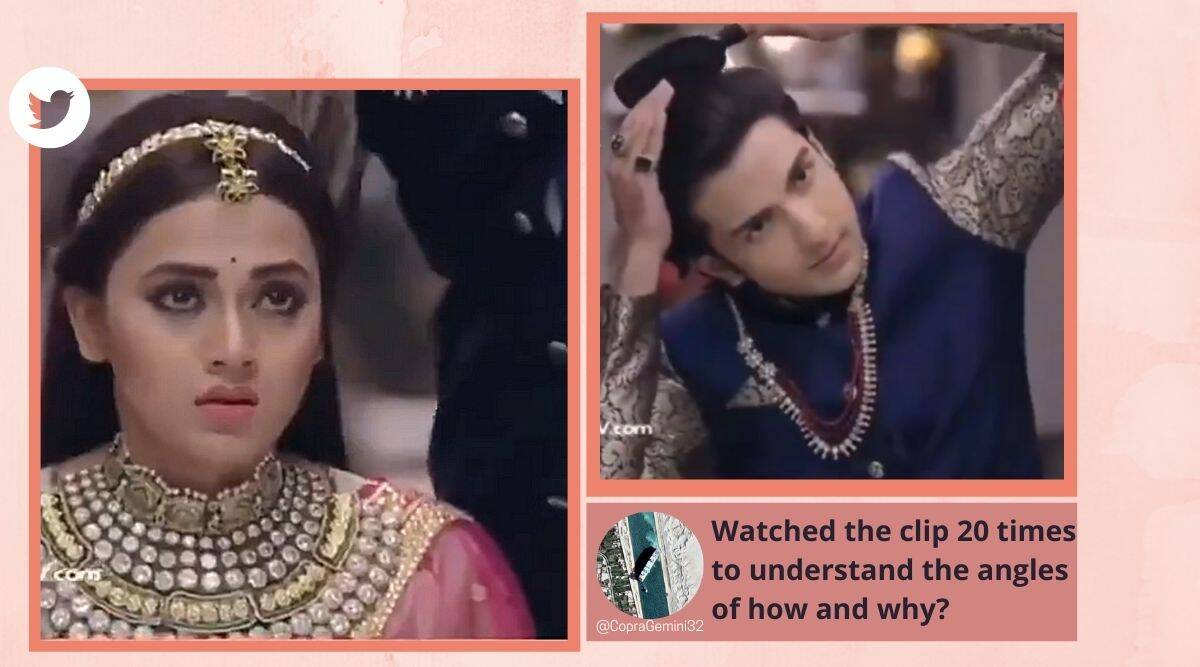 Rishta Hum Likhenge Naya, Rishta Hum Likhenge Naya funny scenes, accidentally married, Accidental Shadi, TV serials circa 2020, Pehredaar Piya Ki, trending, indian express, indian express news