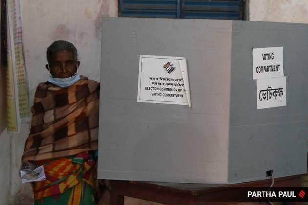 bengal election, bengal voting today, assam election, assam voting, voter turnout, indian express news