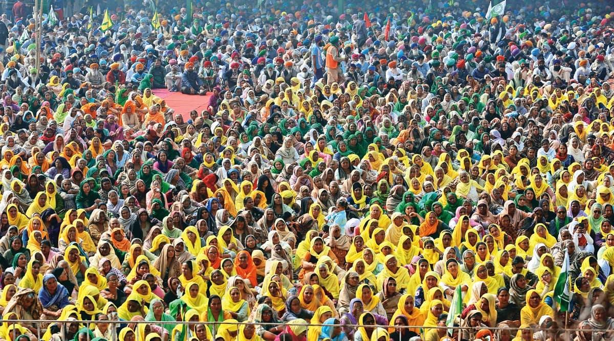 women votebank, Punjab Budget, women farmers protest, International Women's Day, Punjab news, Indian express news