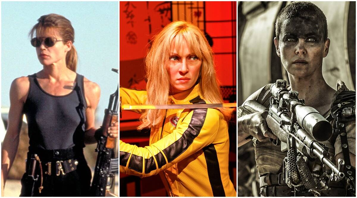 International Womens Day, action heroines, hollywood action heroines