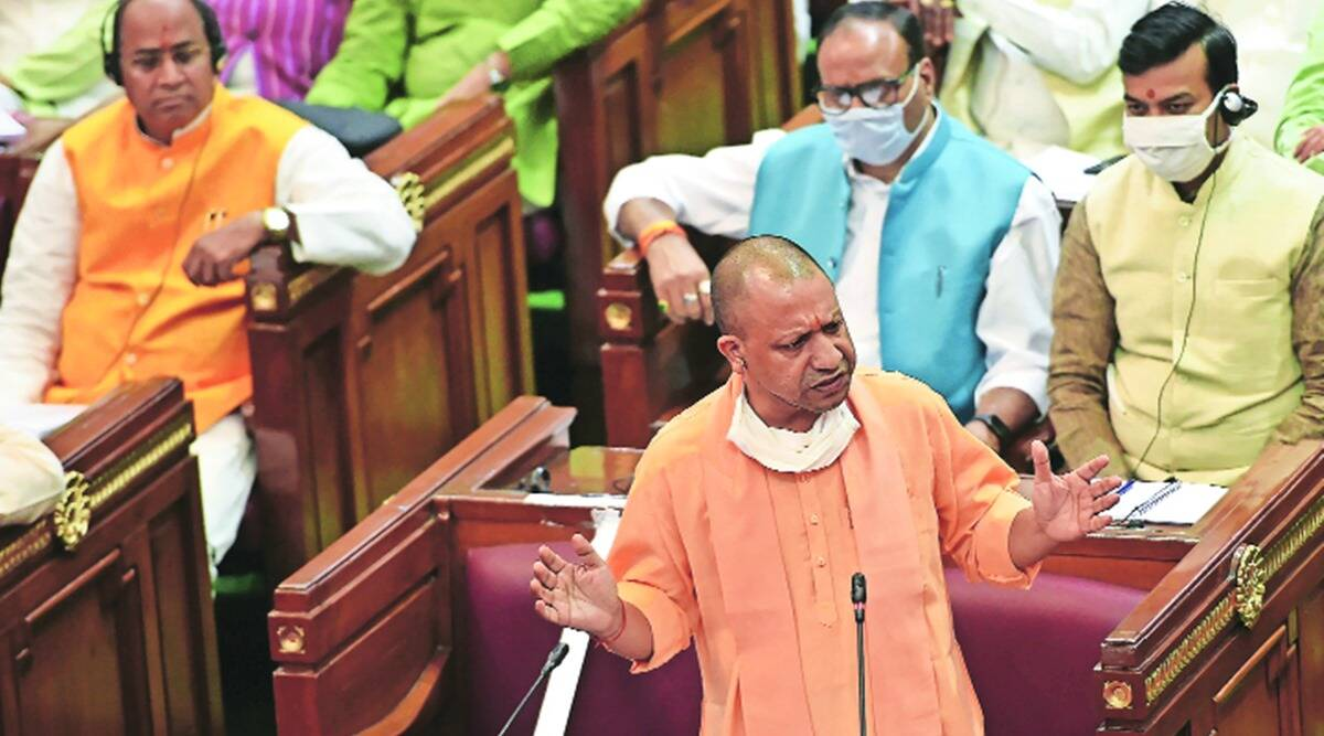 Yogi adityanath, Up gdp, Up assembly election, Up assembly, Up budget, indian express news