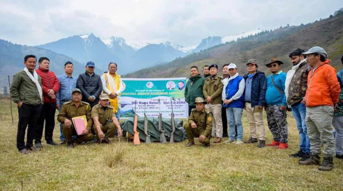 a conservation initiative in Arunachal Pradesh aims to save the birds