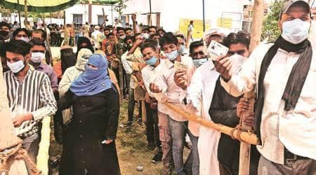 agra, UP panchayat polls, uttar pradesh panchayat polls, up news, lucknow news, panchayat polls in up, indian express