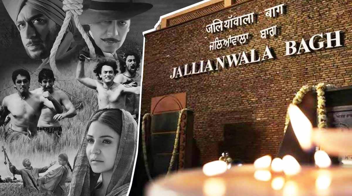 bhagat singh phillauri rang de basanti films on Jallianwala