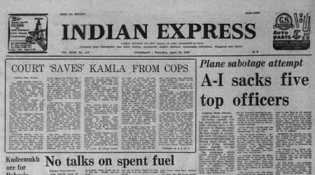 air india, Indira Gandhi, Forty Years Ago, Nuclear Fuel, External Affairs Minister Narasimha Rao, Ore For Bahrain, indian express