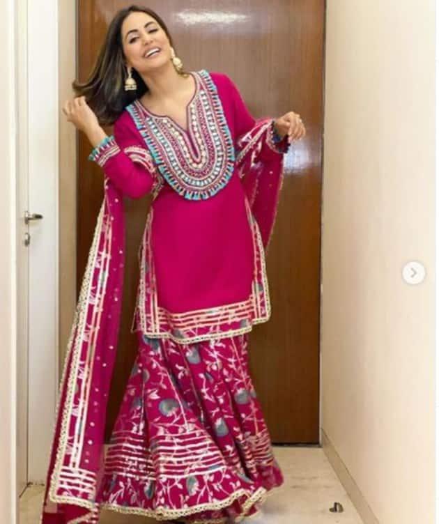 hina, hina khan, hina khan photos, hina khan ethnic wear