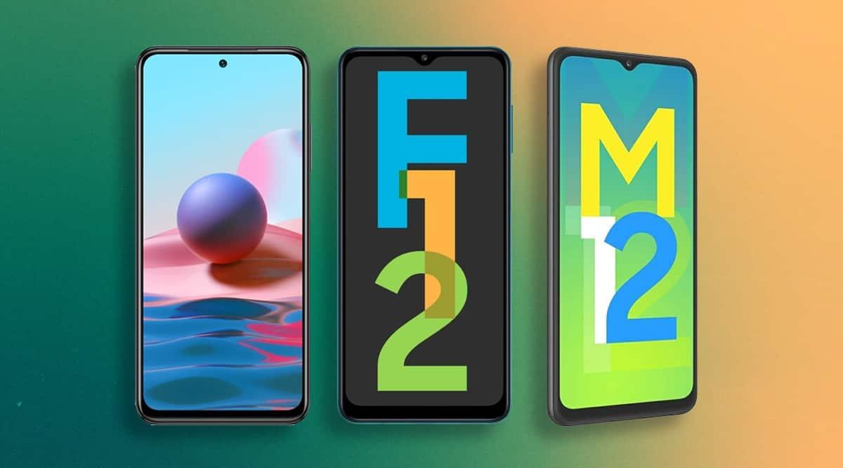 Redmi Note 10, Redmi Note 10 specs, Redmi Note 10 Price, Samsung Galaxy F12, Galaxy F12 specs, Realme 8, Galaxy M12 price,