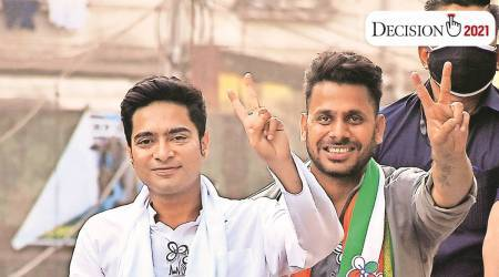 Cyclone Amphan, Abhishek Banerjee, South 24 Paraganas, west bengal election, west bengal assembly elections 2021, assembly elections 2021, election news, indian express