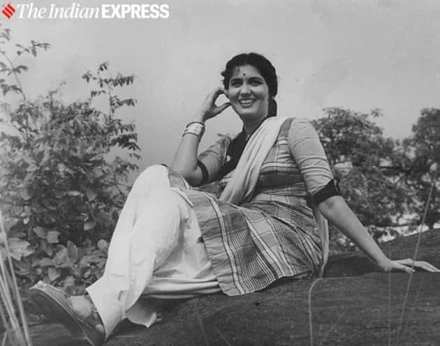 Actress Shashikala in film GO-DAAN.