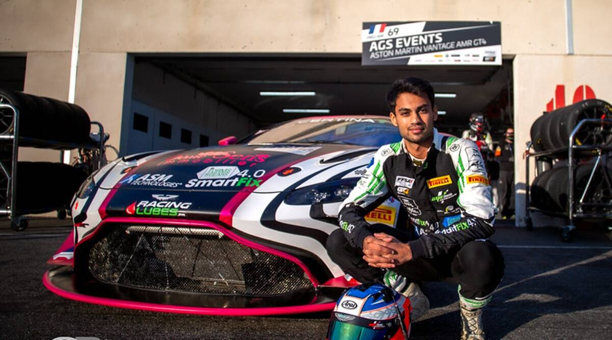 Akhil Rabindra: From go-karting in Bangalore to only Asian at GT4 European Series