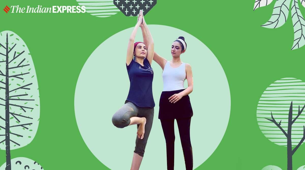 post pregnancy fitness goals, amrita rao fitness, post-pregnancy fitness, pregnany news, amrita rao news, indianexpress.com, indianexpress,
