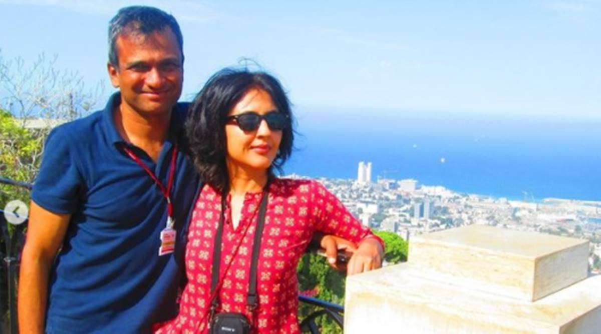 Anuja Chauhan and Niret Alva, Anuja Chauhan and Niret Alva marriage, inter faith marriage, inter religion marriage, lasting married life, India Love Project, indian express news