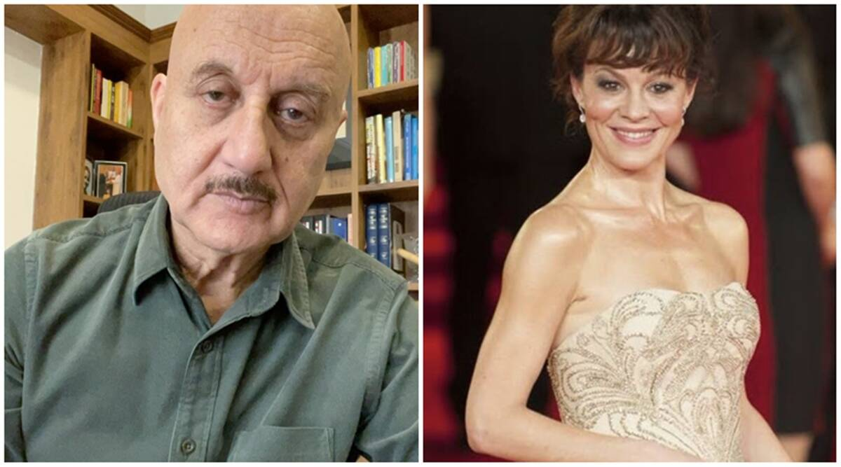 Anupam Kher mounrs Harry Potter actor Helen McCrory demise All deaths are saddening & tragic