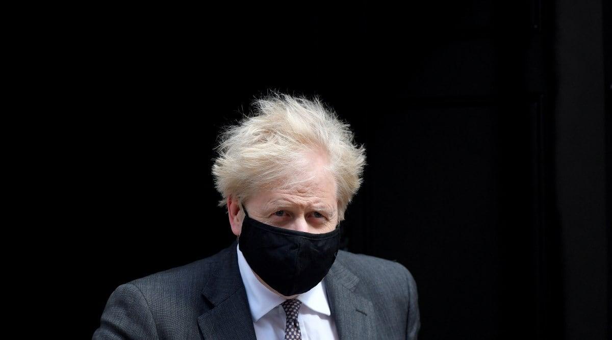 Boris Johnson, Covid-19