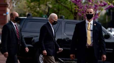 US Russia sanctions, Joe Biden, US Russia, Vladimir Putin, world news, Indian express