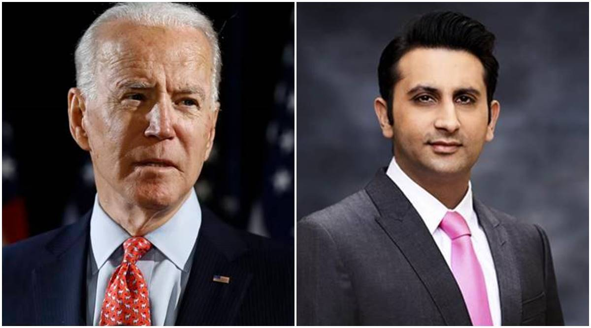 Vaccine raw material, India US vaccine transport, Joe Biden, Biden on vaccine raw materials, Adar Poonawala, Indian express
