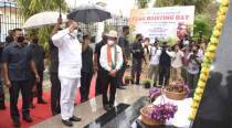 Manipur observes 77th anniversary of flag hoisting day of INA at Moirang