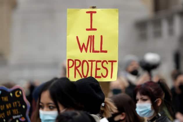Britain kill the bill protest