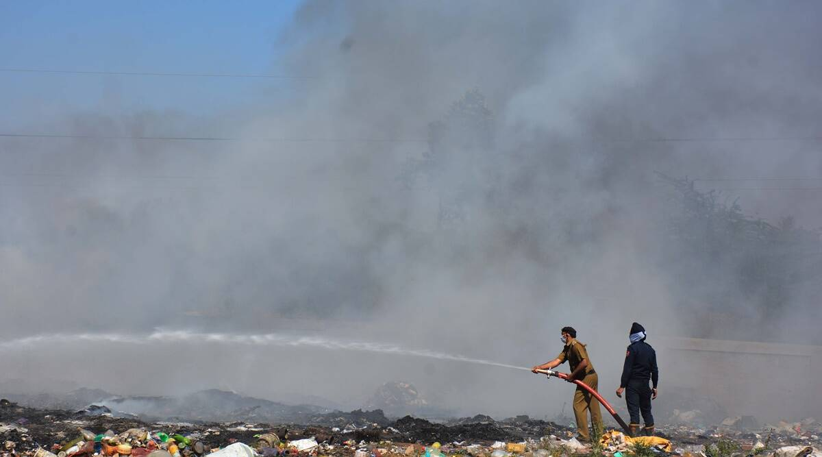 Dadumajra fire finally doused on third day, over 5L litres of water used up