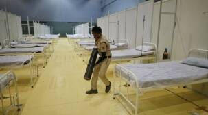 Oxygen supply at Noida hospital chain with 130 Covid patients on last legs