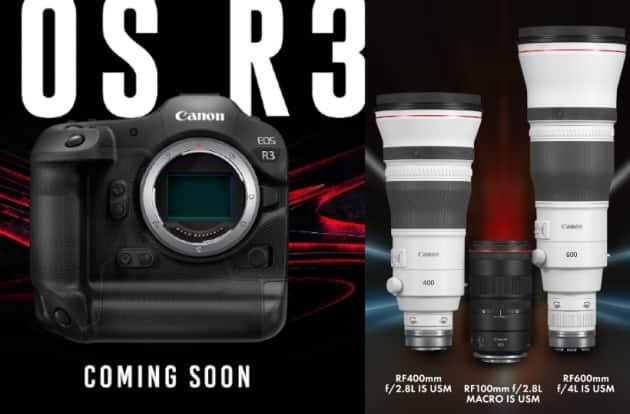 Canon, Canon camera, Canon lens