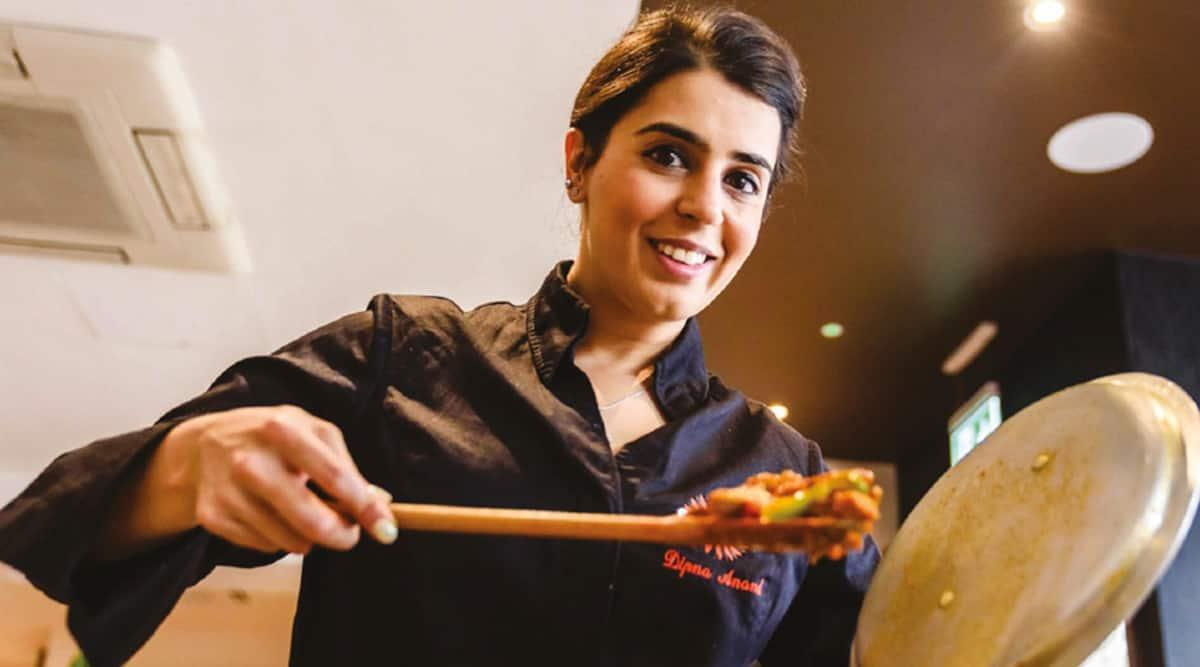 Dipna Anand, chef Dipna Anand, Dipna Anand brilliant restaurant, Dipna Anand gordon ramsay, celebrity chef Dipna Anand, Dipna Anand interview, Dipna Anand instagram, Dipna Anand indian express