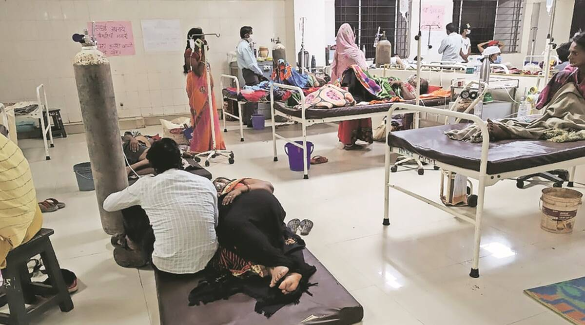 Beds, oxygen, medicines: How Chhattisgarh dropped Covid ball | India  News,The Indian Express