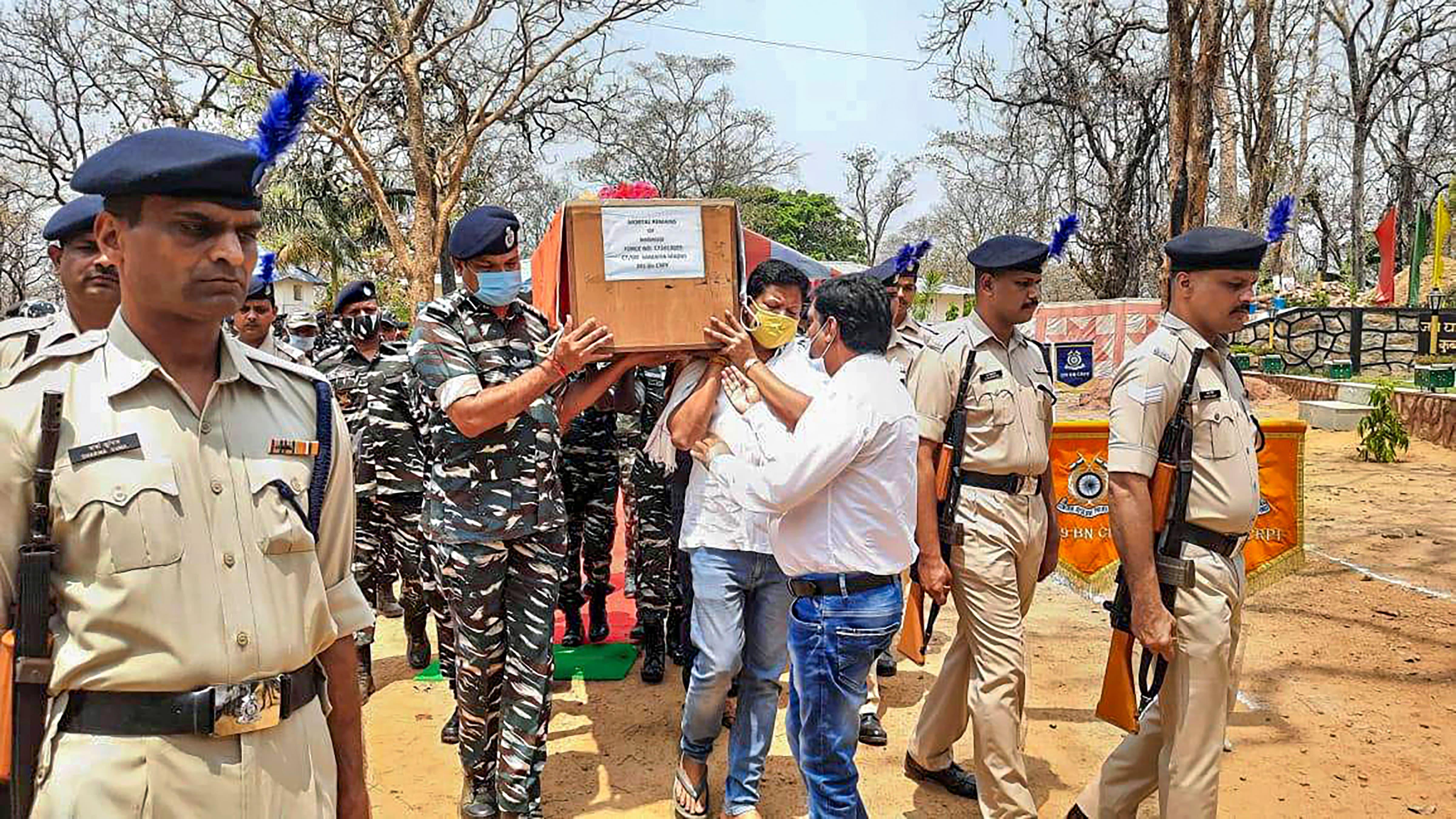 Not an intelligence or operational failure: CRPF DG on Chhattisgarh encounter