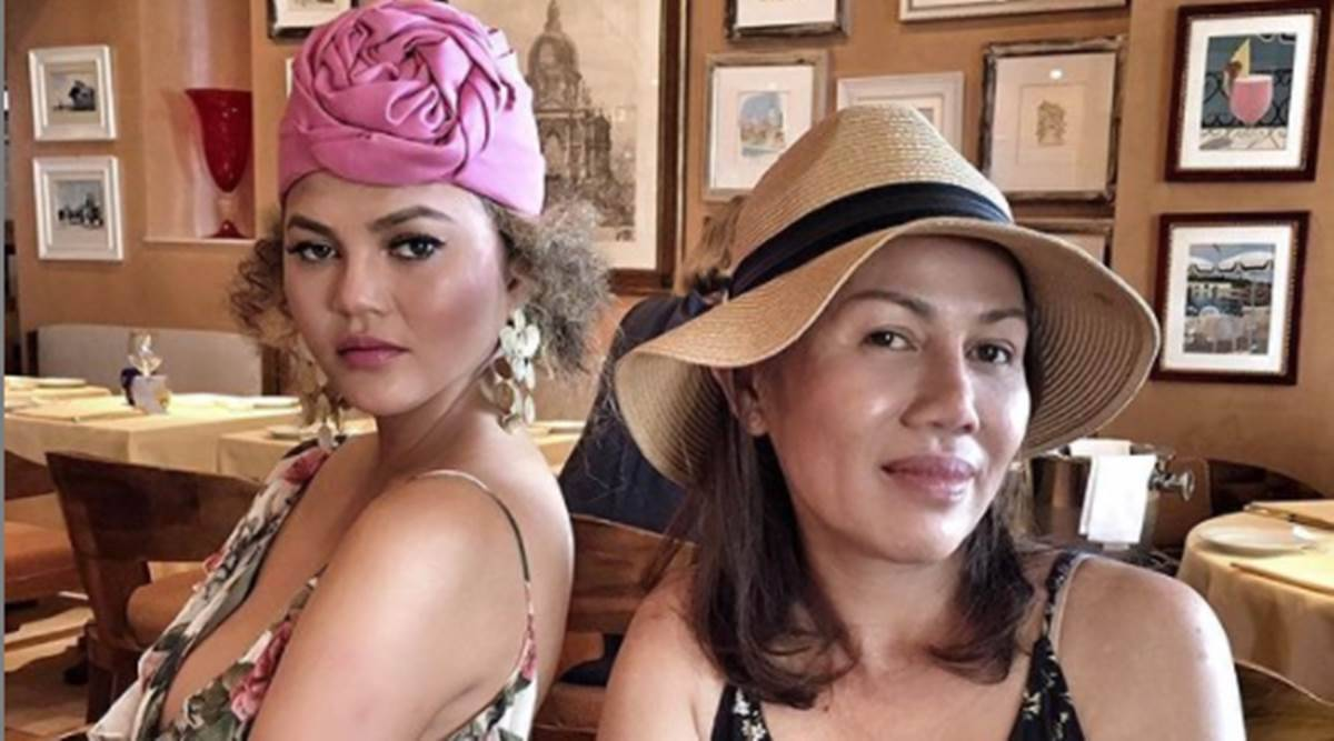 Chrissy Teigen, Chrissy Teigen cooking, Chrissy Teigen Thai food, Chrissy Teigen mother Thai recipes, Chrissy Teigen and her mother, Thai food, indian express news
