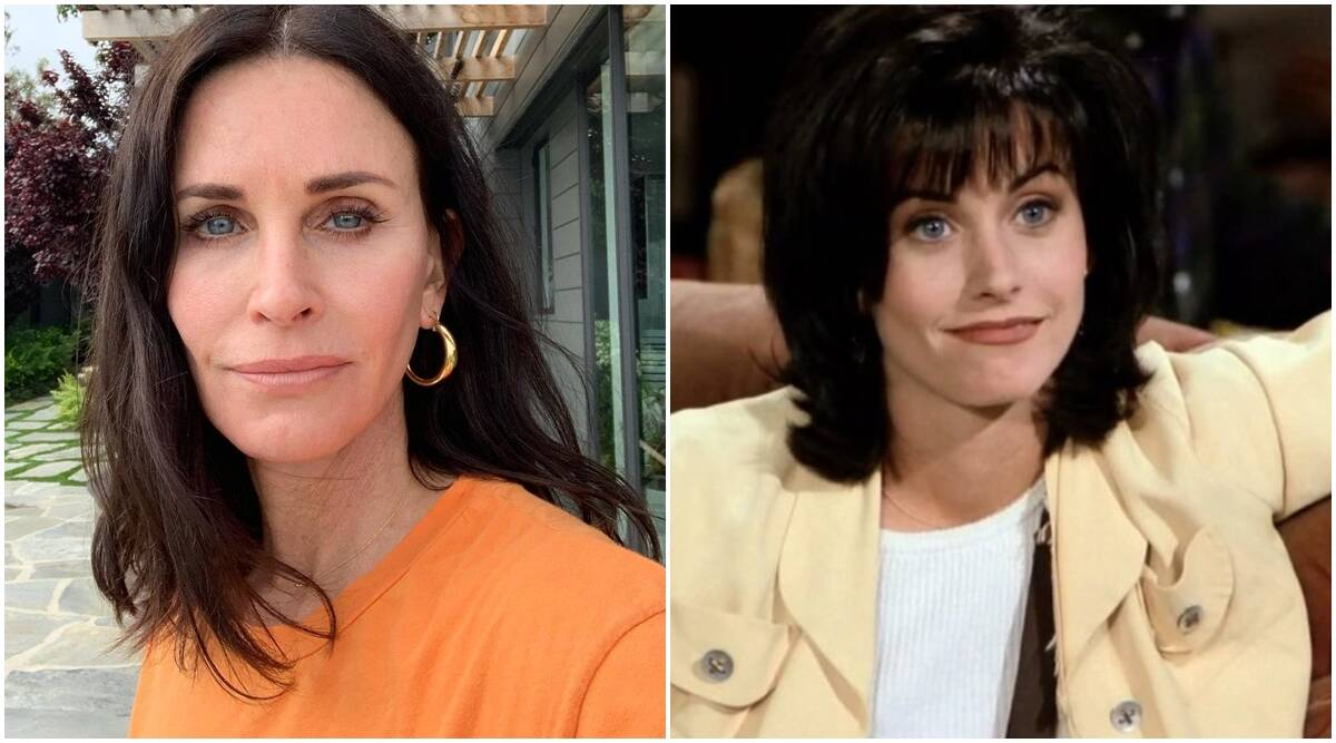 Courteney Cox proves she is a real-life Monica from Friends, watch video |  Entertainment News,The Indian Express