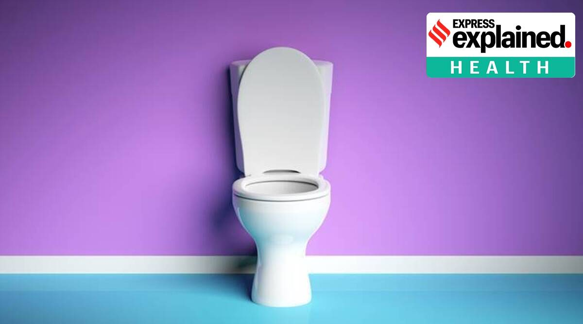 Covid-19 news, Covid-19 Toilet Flush, Covid-19 bathroom, Covid-19 Toilet Flush Aerosols, Express Explained, Explained health