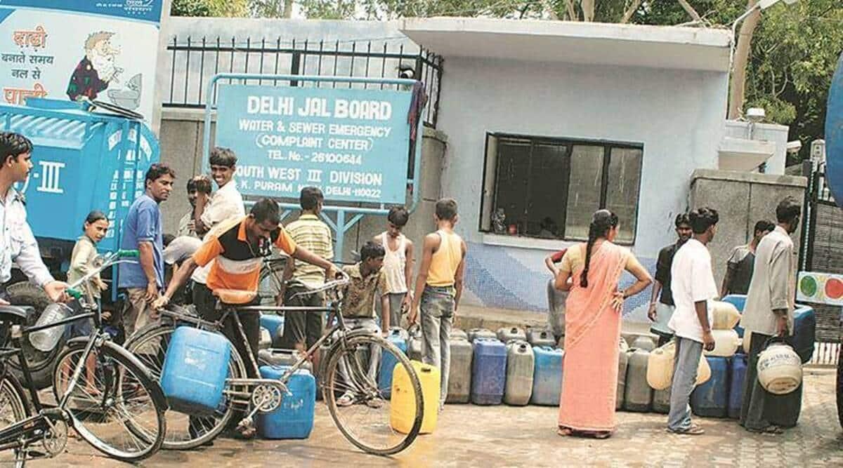 water supply, yamuna, delhi water supply, delhi water supply news, delhi jal board, delhi news, indian express