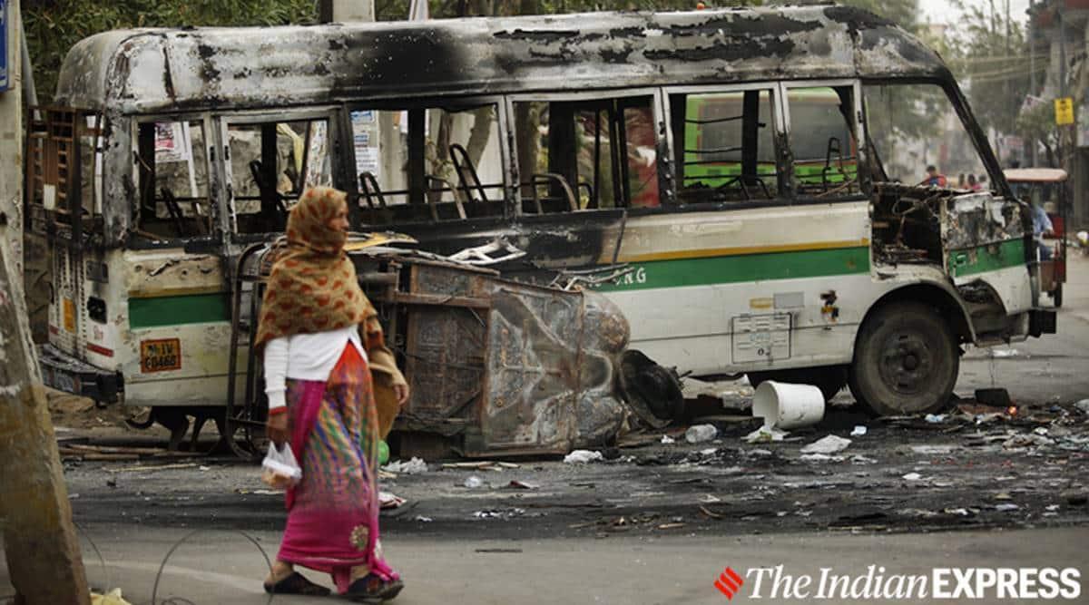 Delhi riots, IB Staffer murder accused, Court denies bail of accused, Tahir Hussain, Delhi court on Tahir Hussain, Tahir Hussain Delhi riots, Delhi police, Delhi news, Indian express