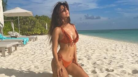 Disha Patani soaks up the sun in Maldives