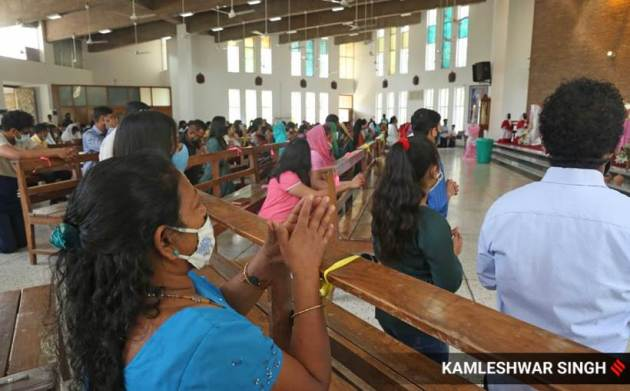 easter celebrations, easter, easter covid, easter covid, easter celebrations, easter celebrations, indian express, indian express news