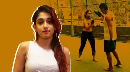 kickboxing, what is kickboxing, ira khan fitness, ira khan fitness news, ira khan news, aamir khan daughter, kickboxing training, how to start with kickboxing, indianexpress.com, indianexpress,
