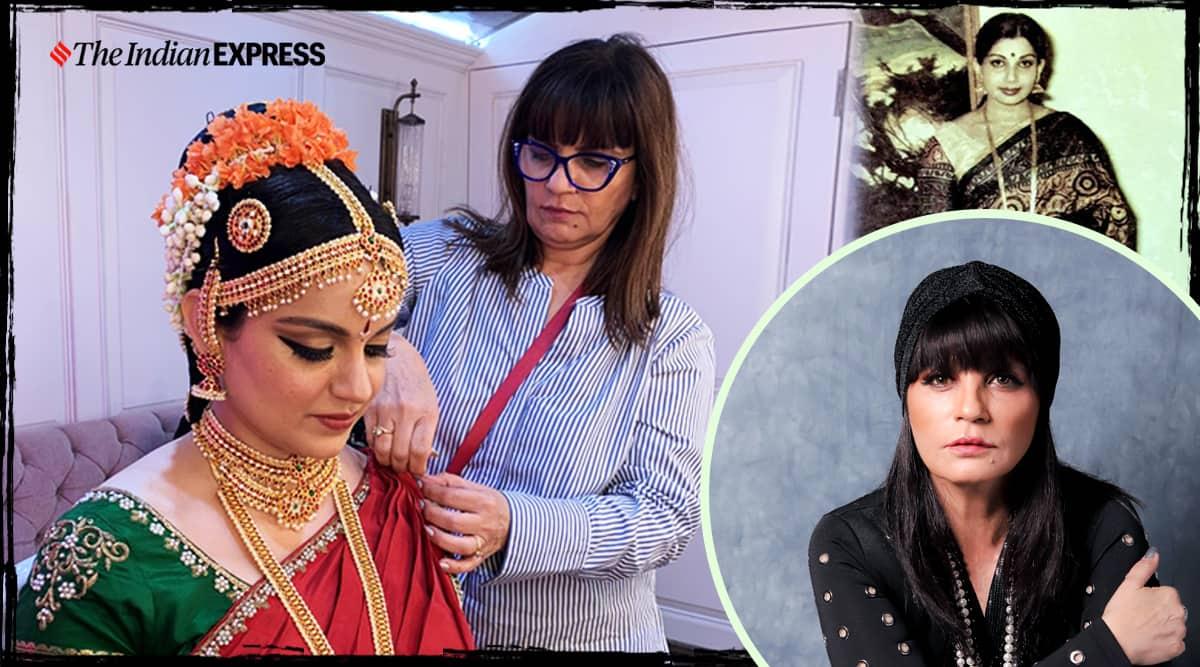 Neeta Lulla, Thalaivi, costume, design, indian express news
