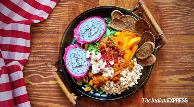 cold salad recipe, easy cold salad recipe, simple cold salad recipe, cold salad recipe at home, indian express news