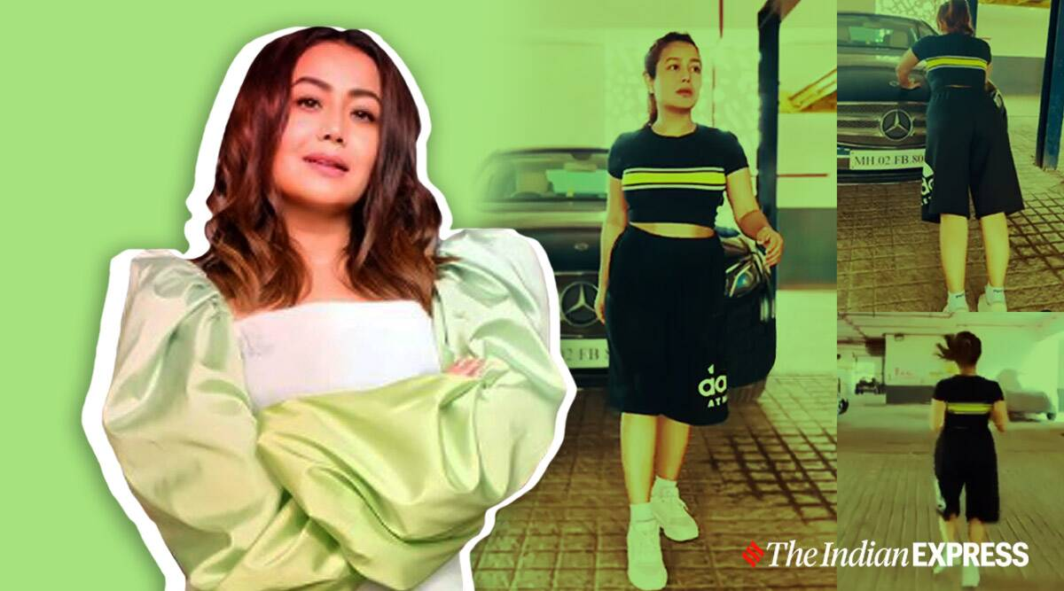 home workouts, indianexpress.com, lockdown workout, how to workout in lockdown, neha kakkar fitness, neha kakkar news, fitness news bollywood, indian idol neha kakkar, lockdown fitness,