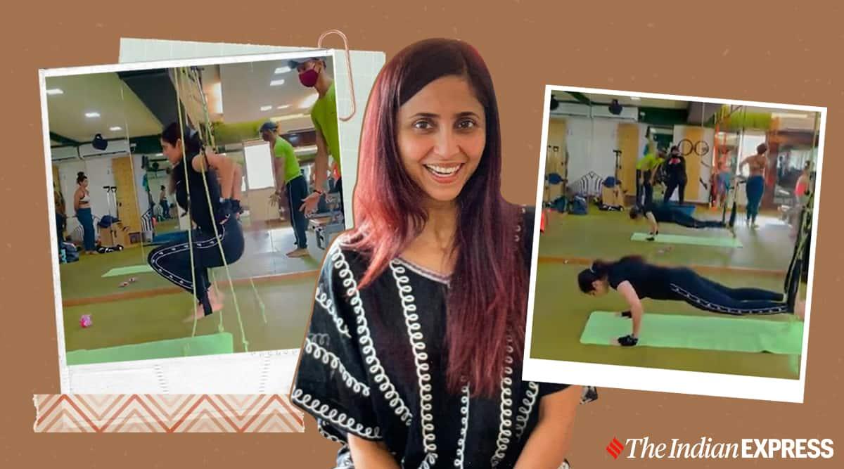 Pilates, gautami kapoor fitness, gautami ram kapoor news, fitness goals, what is pilates, pilates news, indianexpress.com, indianexpress, celeb fitness