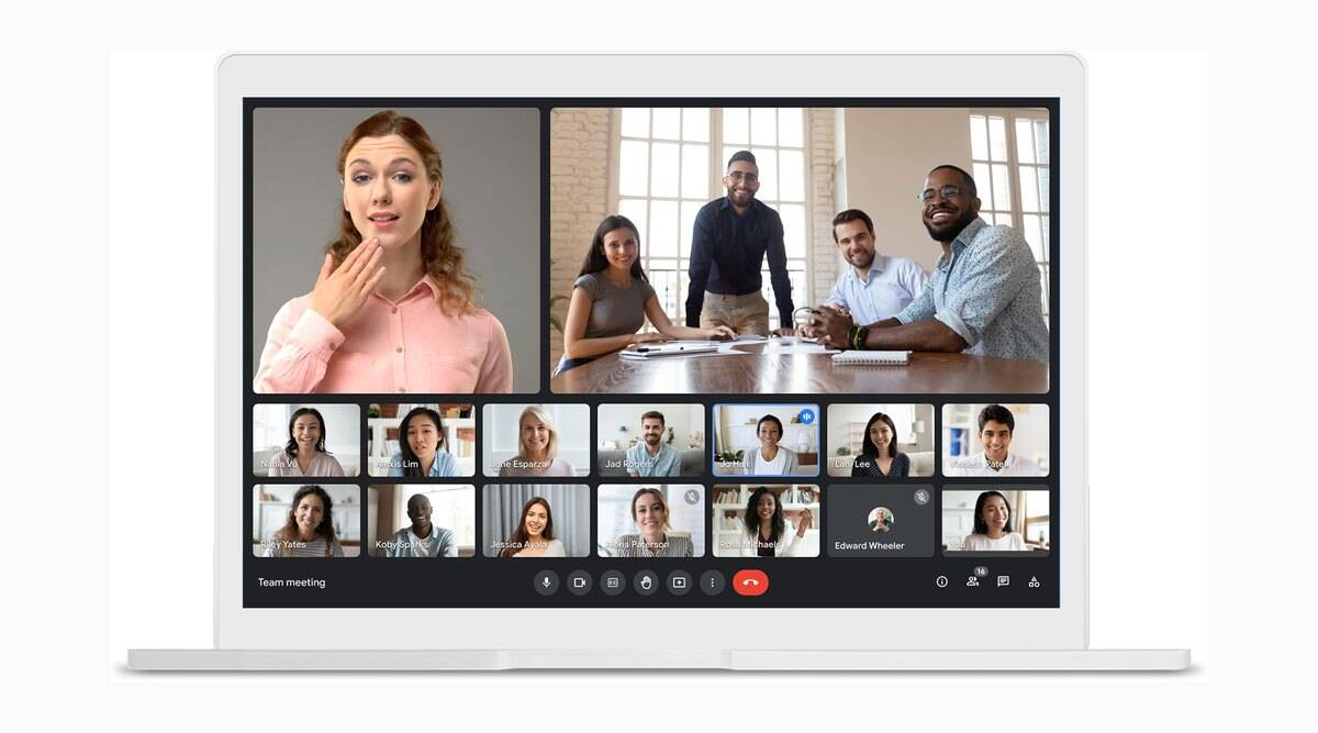 Google Meet, Google Meet features, Google Meet background replace, Google Meet upcoming features, Google Meet resize feed, video calling app, video call app, Google Meet 2021, video call apps 2021