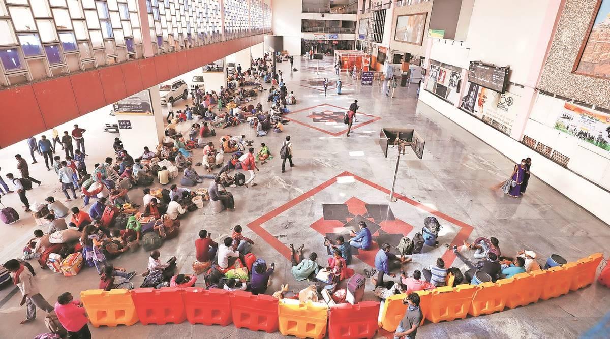 Gujarat migrants, Gujarat High Court, Gujarat Lockdown, gujarat news, indian express