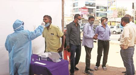Covid-19 cases see steep rise in Vadodara in a week from April 21