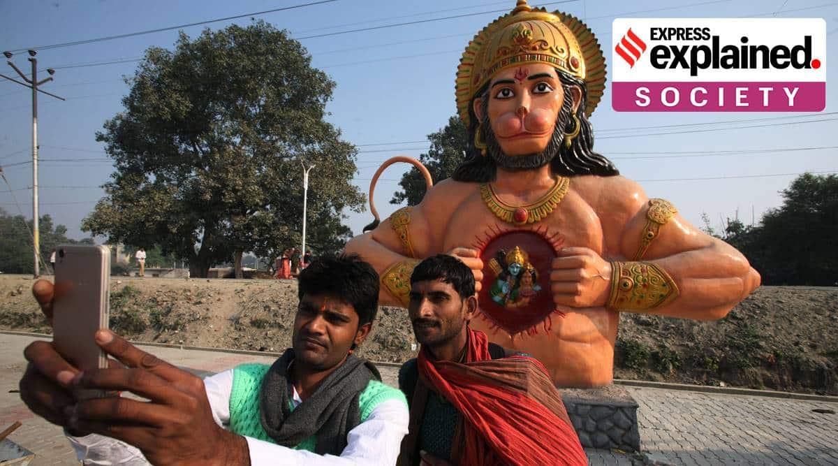 Hanuman's actual birthplace, Karnataka vs Andhra Pradesh over Hanuman;s birth place, Ramayana, Ayodhya Ram temple, What is Hanuman's birth place, Express Explained