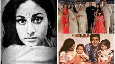 Jaya Bachchan birthday 20 photos with other Bachchans