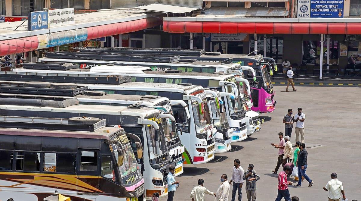 Bengaluru, Private buses, Bengaluru Buses, DULT, Outer Ring Road, Bengaluru metro, Indian express, Indian express news, current affairs, Bengaluru news